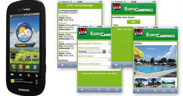 Handige app: ACSI Eurocampings