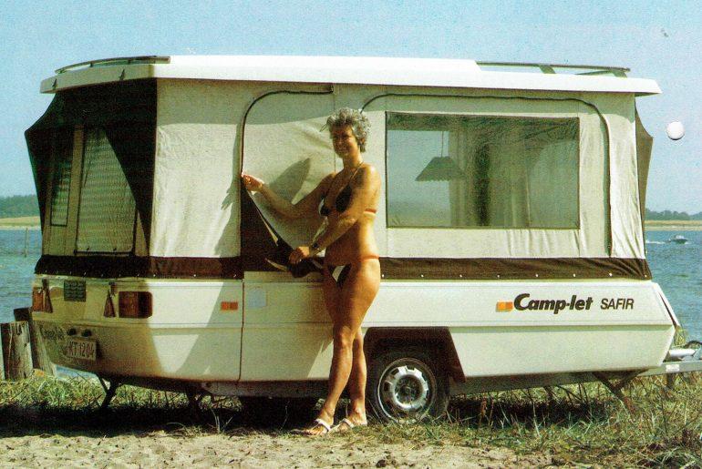 camp-let safir vouwcaravan