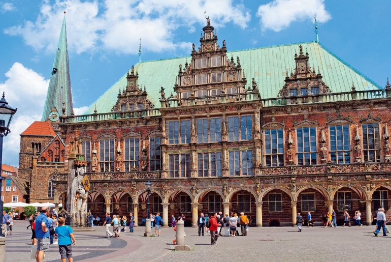 Bremen oude raadhuis