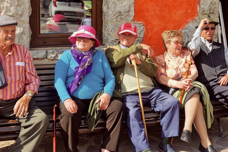 ouderen in Potes