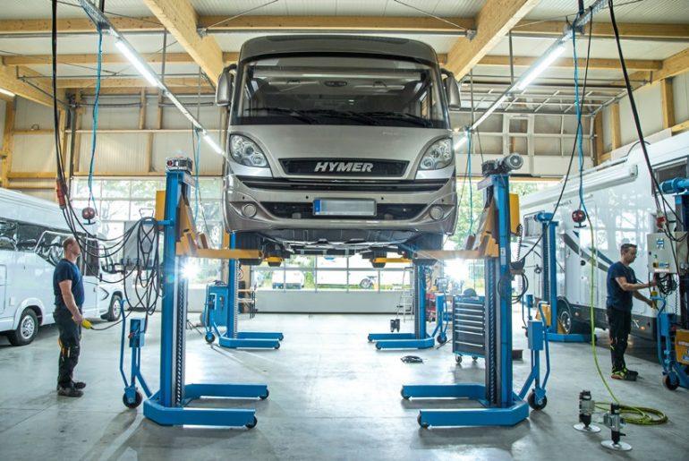 hydraulische steun monteren
