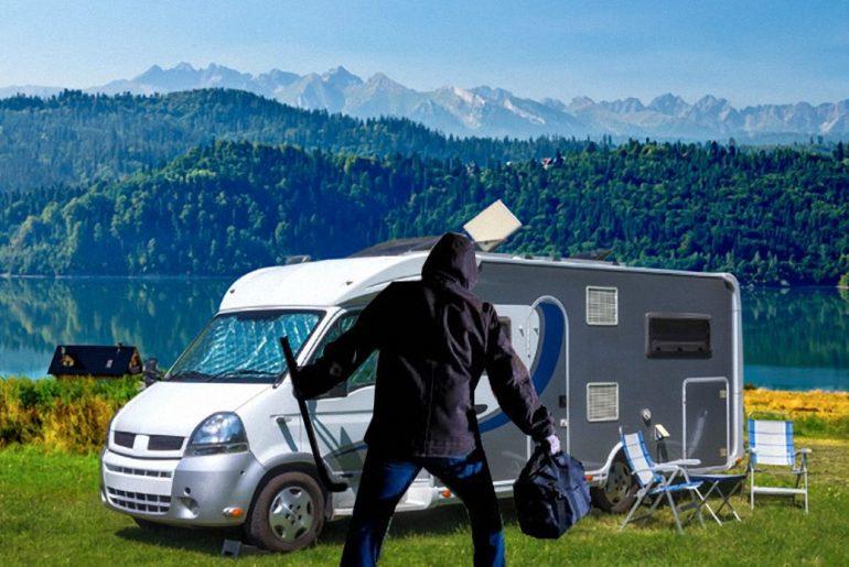 Camper inbraak preventie