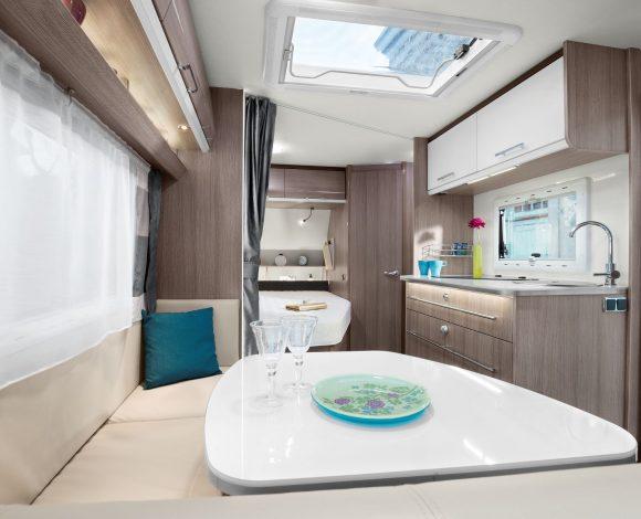 Caravelair Allegra 420 Interieur