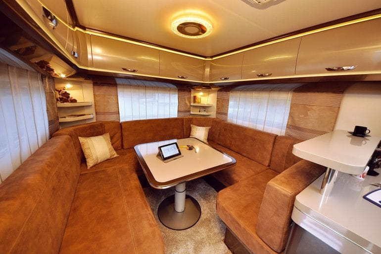 Hobby Premium 560 CFe interieur