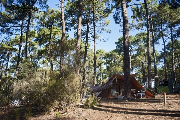 Natuurcamping, foto Huttopia.com