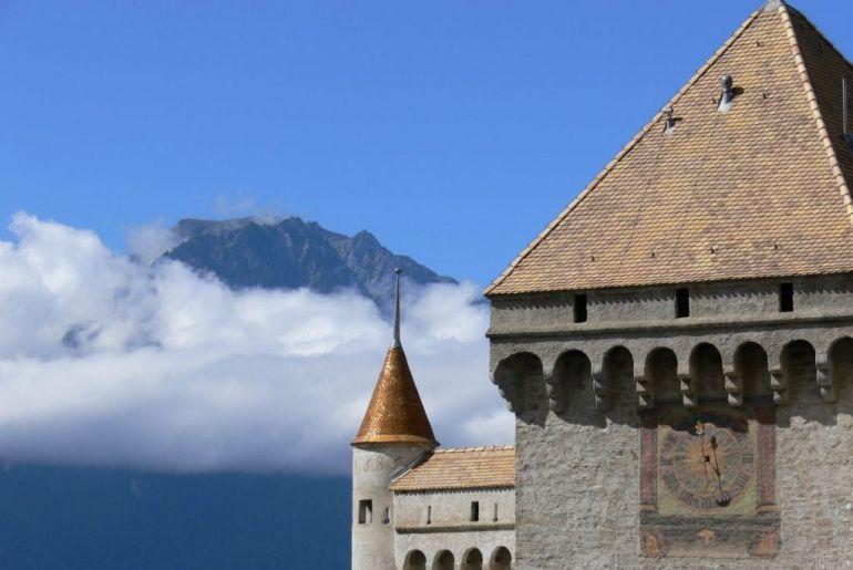 Veytaux, kasteel Chillon, Zwitserland