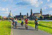 Fietsroutes Elberadweg Dresden