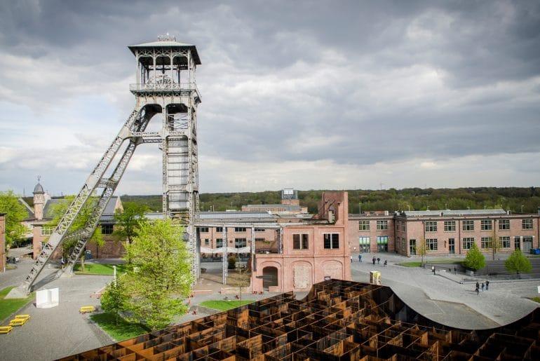 C-Mine Genk Belgisch Limburg foto Jaap Buijs