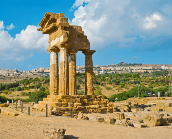 Sicilië Concordia-Tempel Agrigento