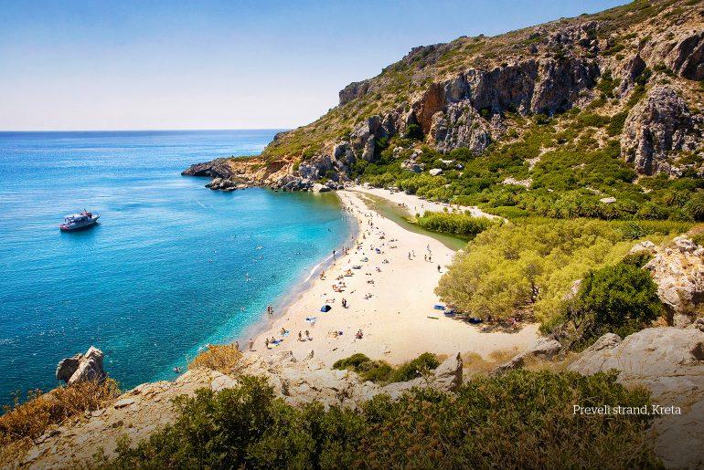 Preveli strand, Kreta