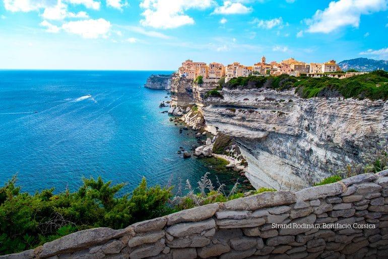 Rodinara strand, Bonifacio, Corsica