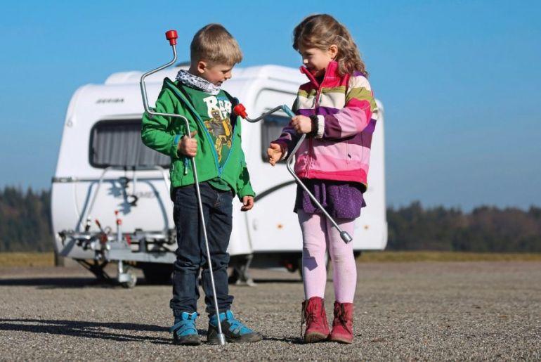 Caravan stellen