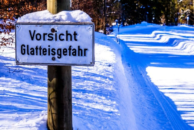Winterbanden in Duitsland