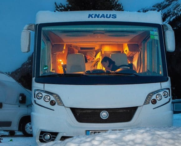 Winterkamperen camper