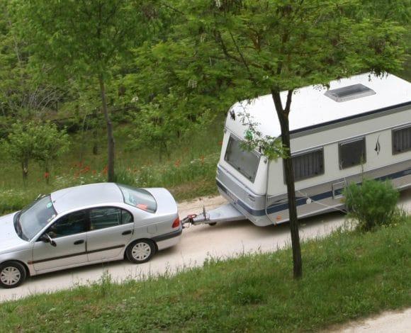 caravan uit stalling