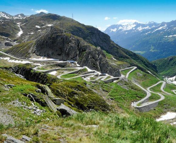 Alpenroutes Gothardpass