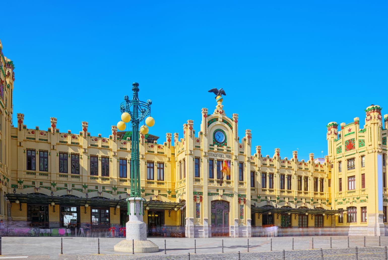 Treinstation Estación del Norte - Valencia