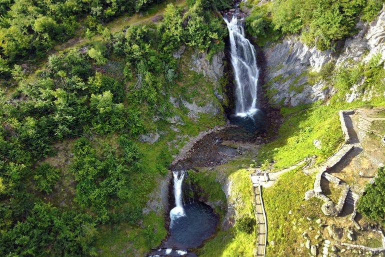Watervallen Saut Deth Pish