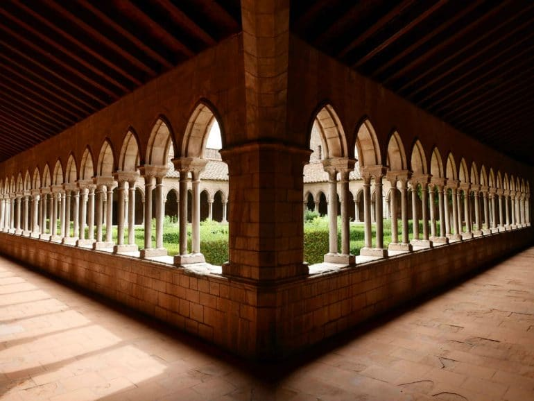 Klooster in de Pyreneeën