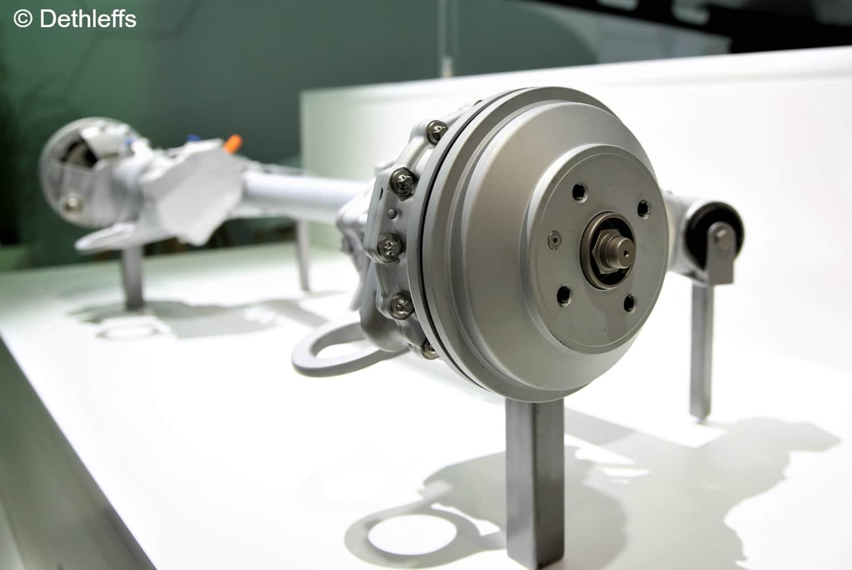Elektrische wielnaafmotoren