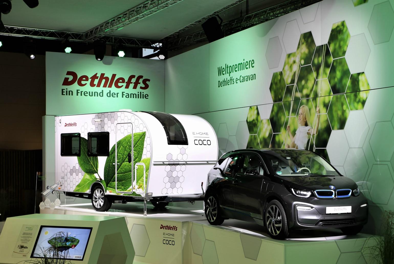 Dethleffs - Caravan met zelfaandrijving
