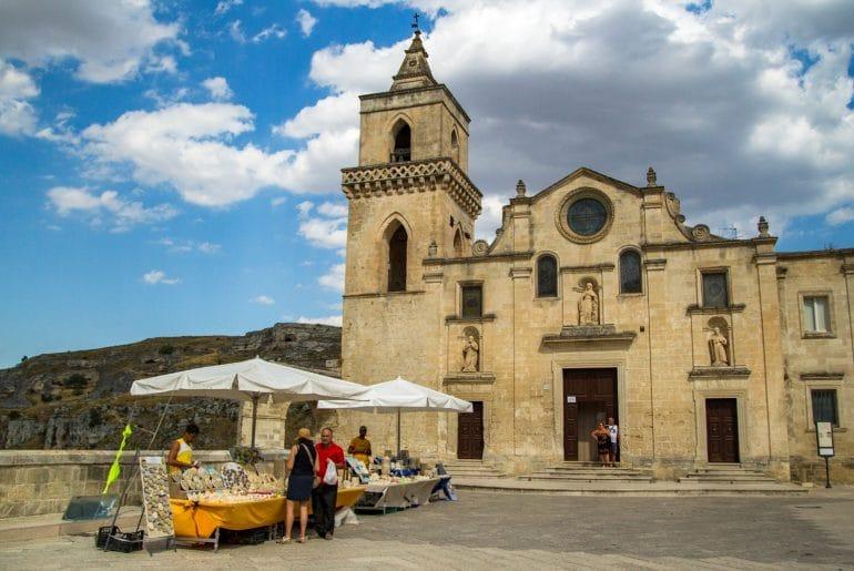 Matera_Chiesa San Petro Caveoso©Allwrite