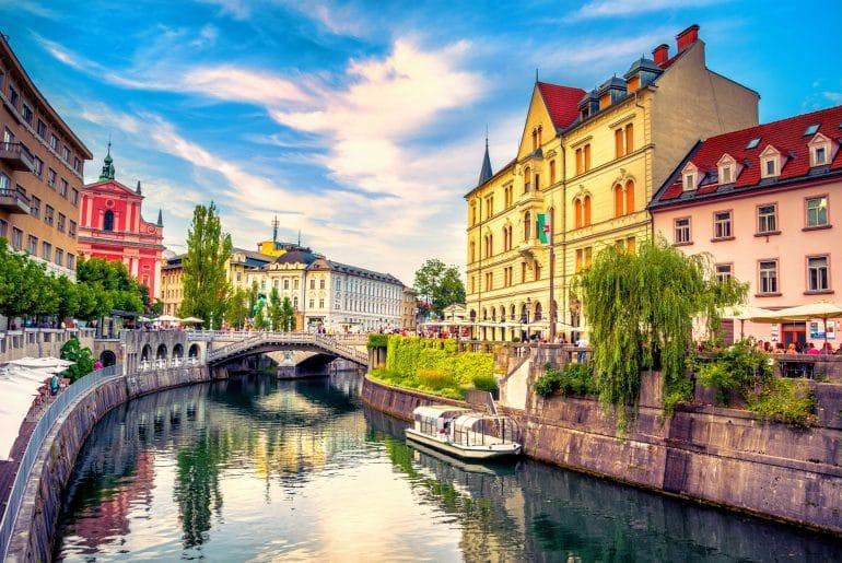 Boottocht Ljubljana