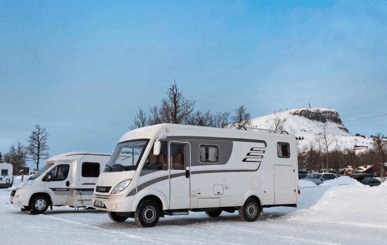 Campers Zuid-Noorwegen
