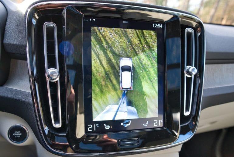 Volvo CX40_interieur_display