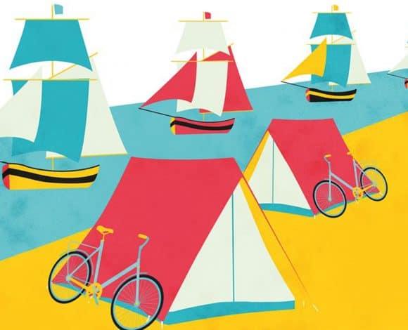 Armada Rouen_Drijvende camping