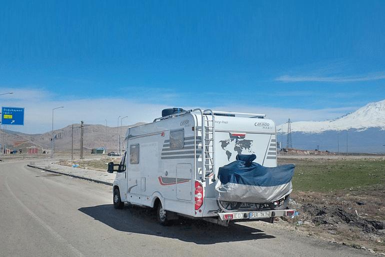 Camper Azië Turkije