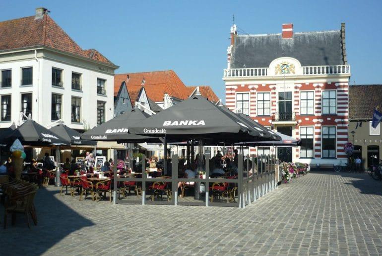 De markt in Hattem