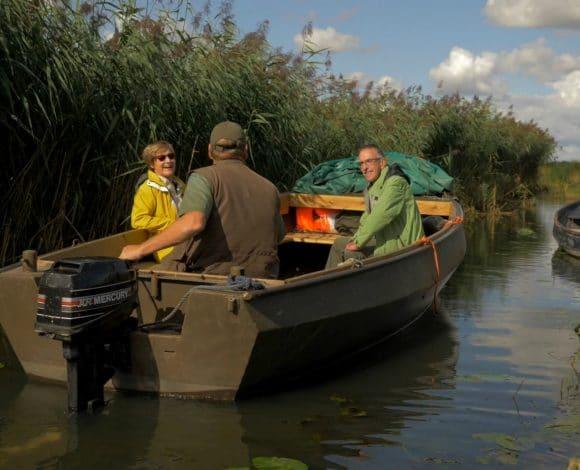 Cultuurliefhebbers Joop en Tonny gaan varen