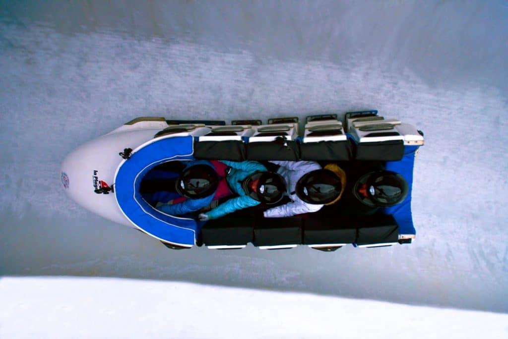 La Plagne_bobsleeën