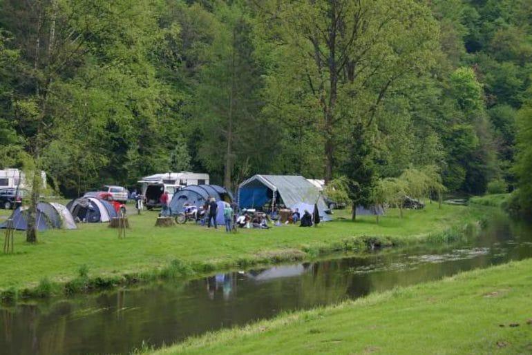 Camping Ile de Faugneul