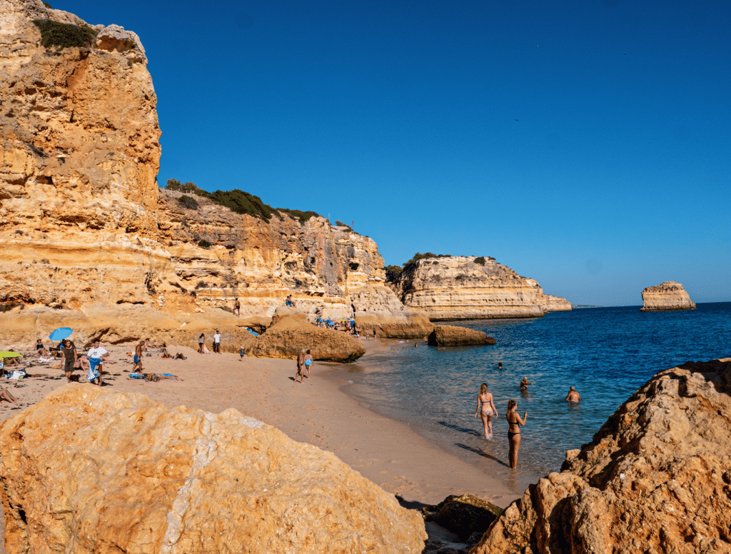 Algarve_strand_Marinha