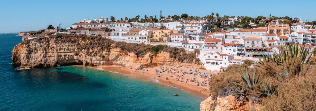 Algarve_strand Carvoeiro