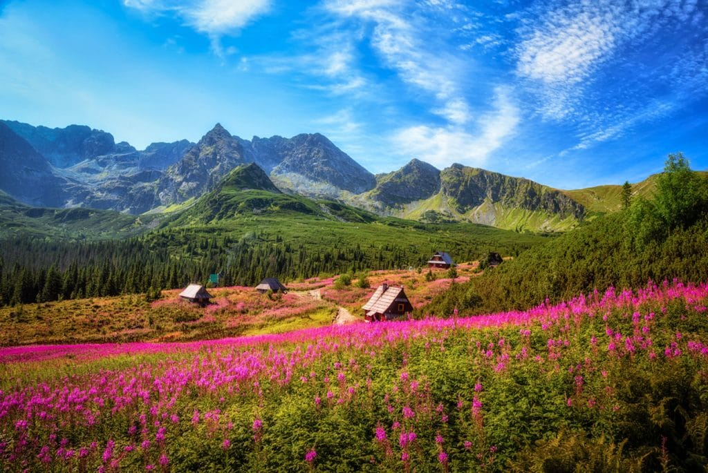 Klein-Polen_Tatry Mountains, Karpaty, Poland
