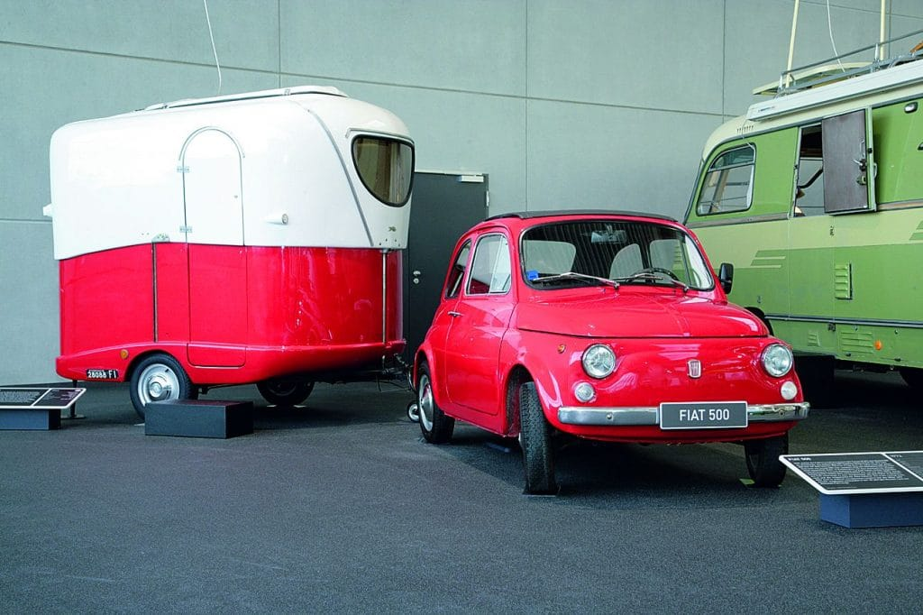 Erwin Hymer Museum_Fiat 500