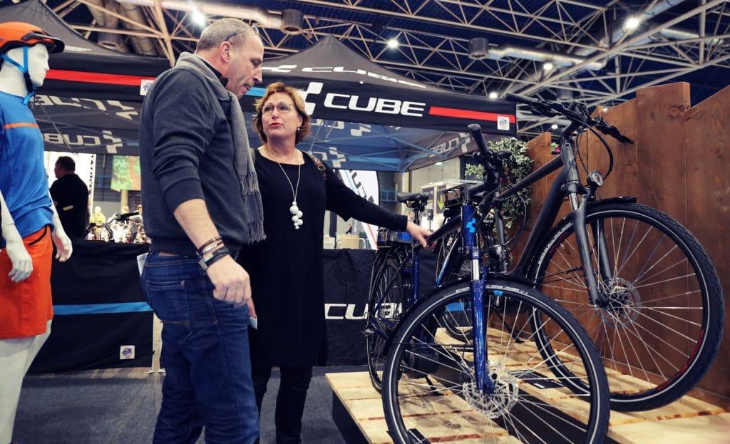Cube e-bike testcentrum