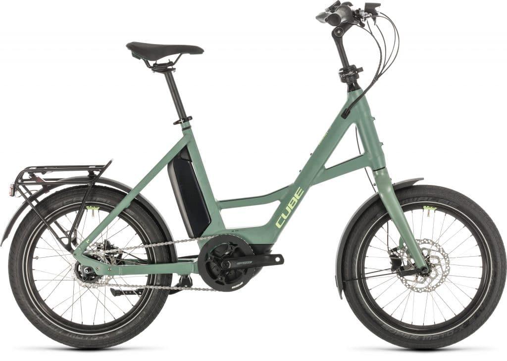 E-bike Cube Compact Hybrid groen