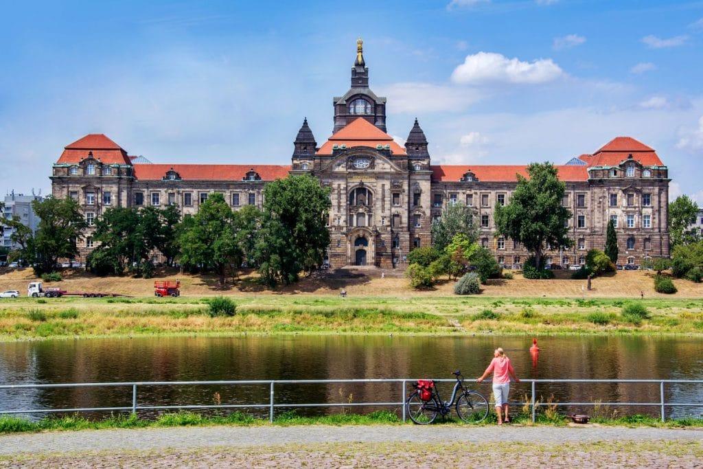 Fietsen Saksen Elbe