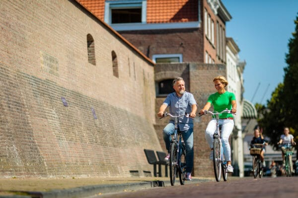 Waterlinie Fietsroute_Fietsers Gorinchem