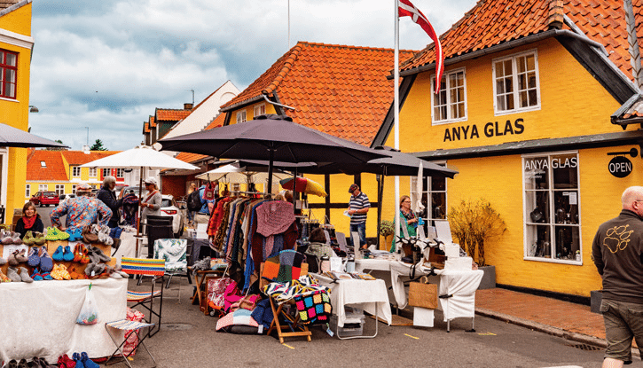 Denemarken_Bornholm_markt