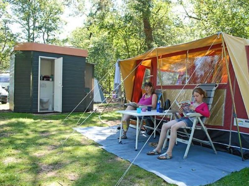privé sanitair camping