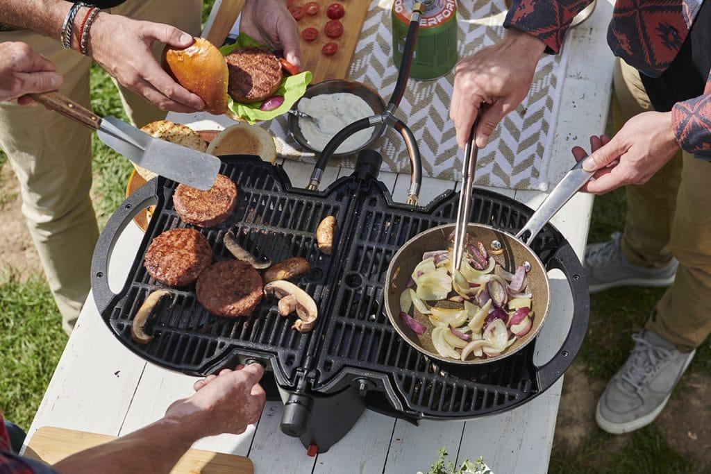Nomadiq gasbarbecue tafelbarbecue