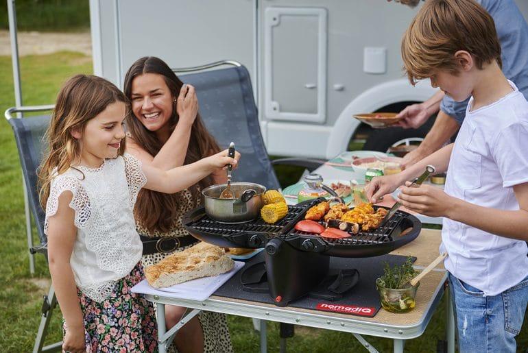 Nomadiq gasbarbecue