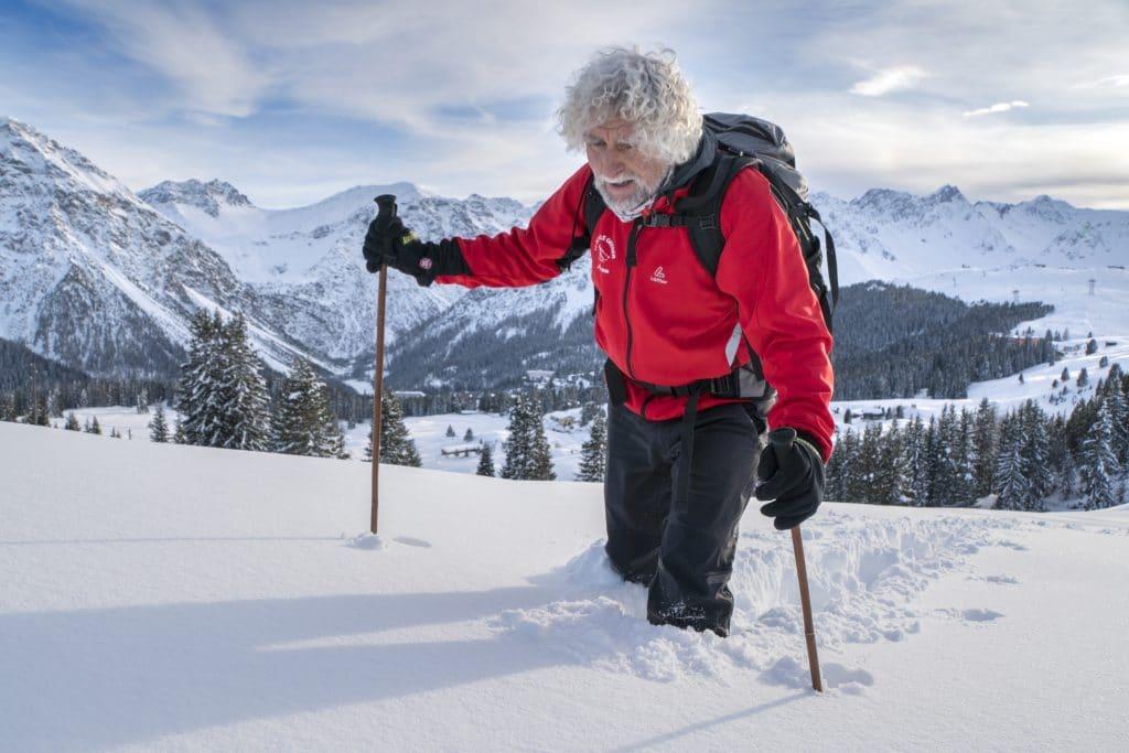 Sneeuwschoenwandelen Graubünden