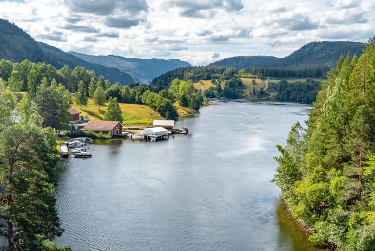 Zuid-Noorwegen_kano