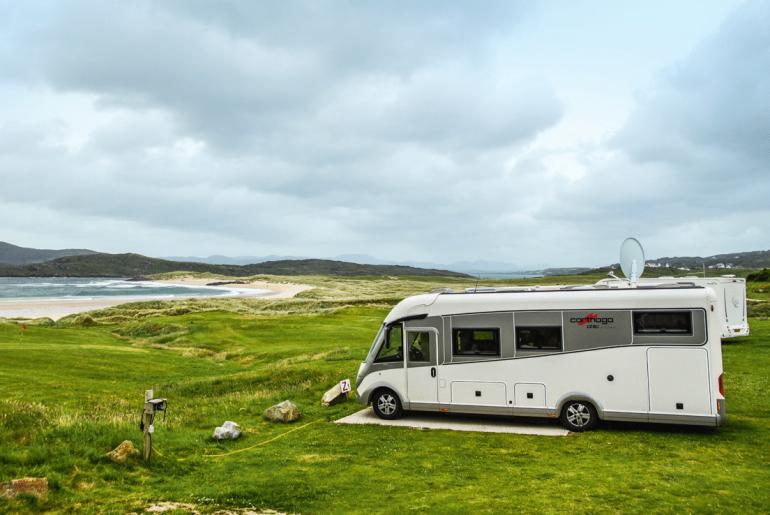Ierland_camper_Camping Rosguill Holiday Park